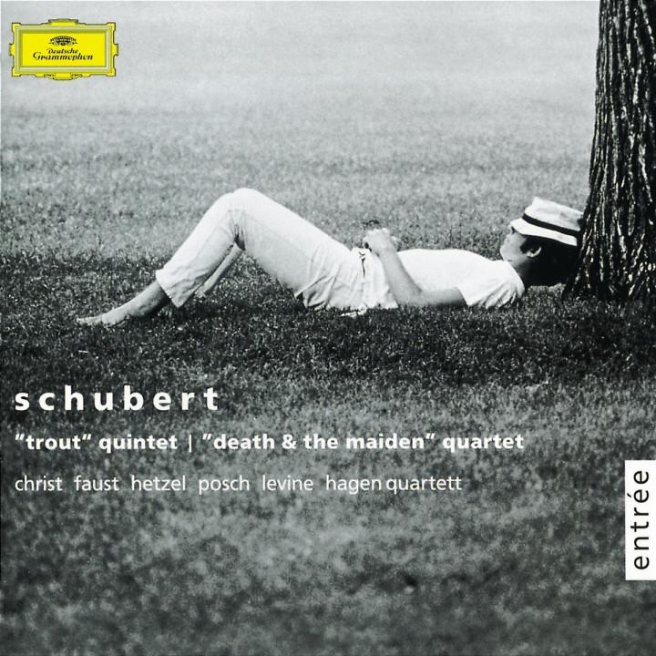 """Schubert: """"Forellenquintett"""", Streichquartett """"Der Tod und das Mädchen"""" 0028947174024"""