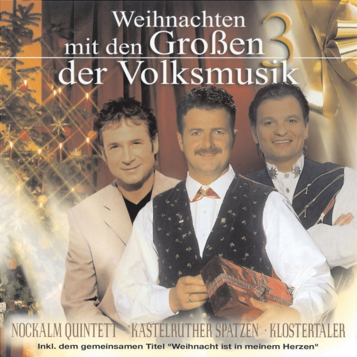 Weihnachten mit den Großen 3 der Volksmusik 9002722246879