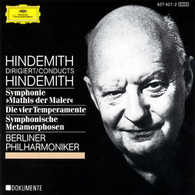 Paul Hindemith, Sinfonie Mathis der Mahler; Die vier Temperamente; Symphonische Metamorphosen, 00028942740723
