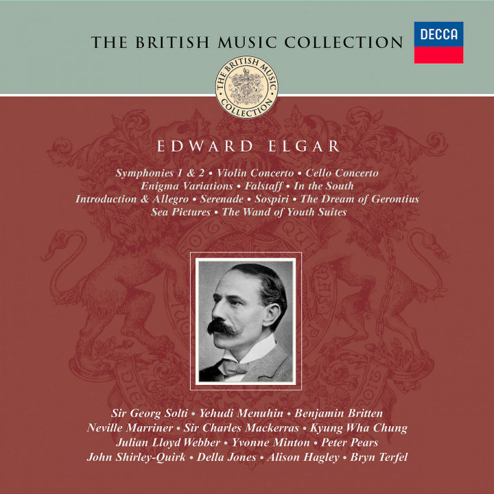 Elgar: Orchestral Works/Dream of Gerontius etc 0028947324928