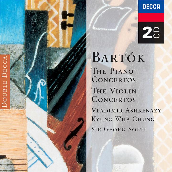 Bartók: Piano Concertos; Violin Concertos 0028947327127