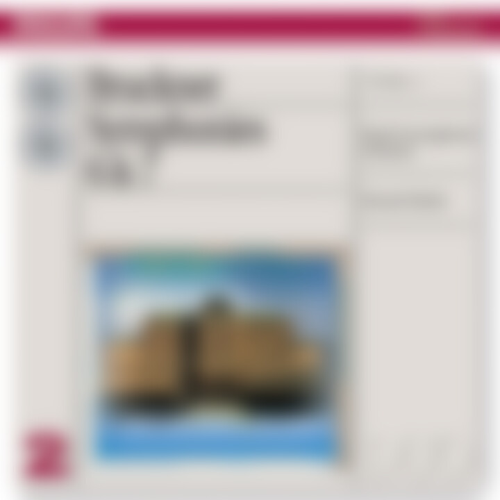 Bruckner: Symphonies Nos.6 & 7 0028947330123