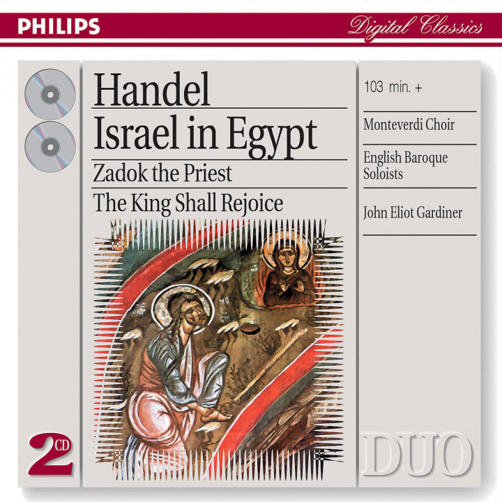 Handel: Israel in Egypt/Coronation Anthems 0028947330422