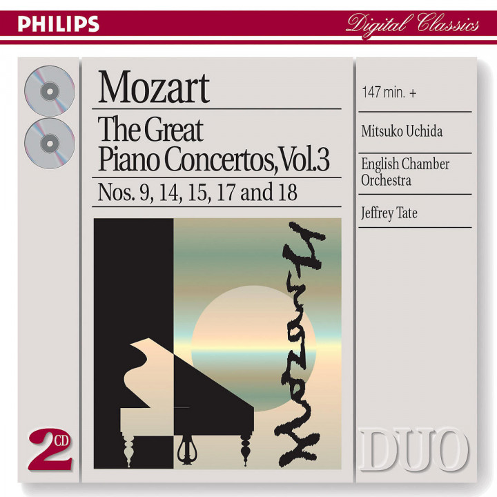 Mozart: The Great Piano Concertos, Vol.3 0028947331320