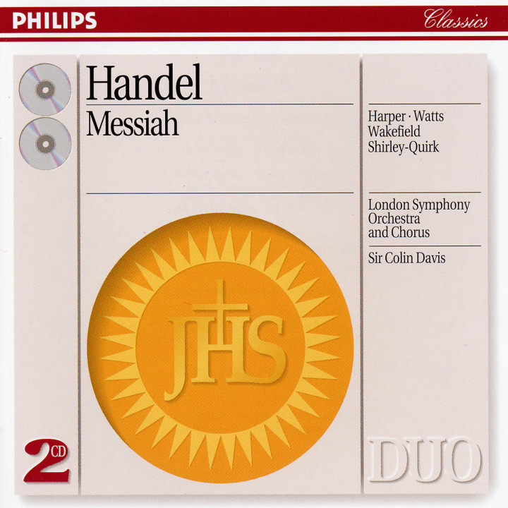 Handel: Messiah 0028943835626