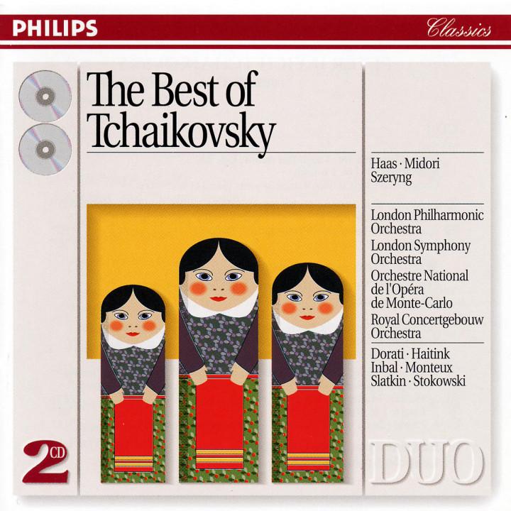 Klavierkonzert Nr. 1; Streicherserenade; Capriccio Italien; Violinkonzert 0028943838629