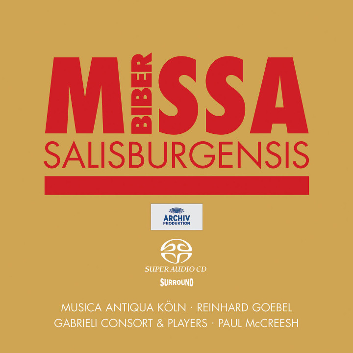 Biber: Missa Salisburgensis 0028947163226