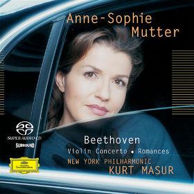 Anne-Sophie Mutter, Violinkonzert, Romanzen für Violine und Orchester, 00028947163329
