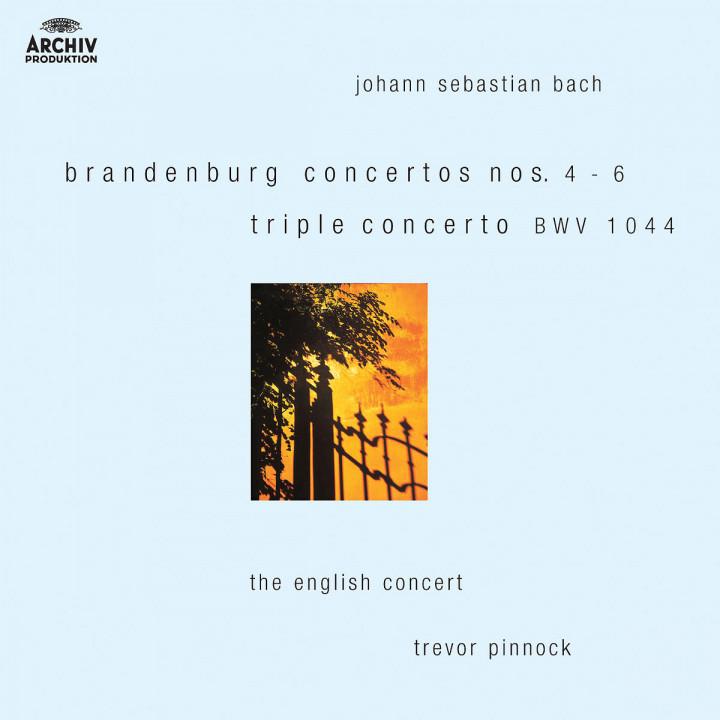 Bach: Brandenburg Concertos Nos.4-6; Triple Concerto BWV 1044 0028947422020