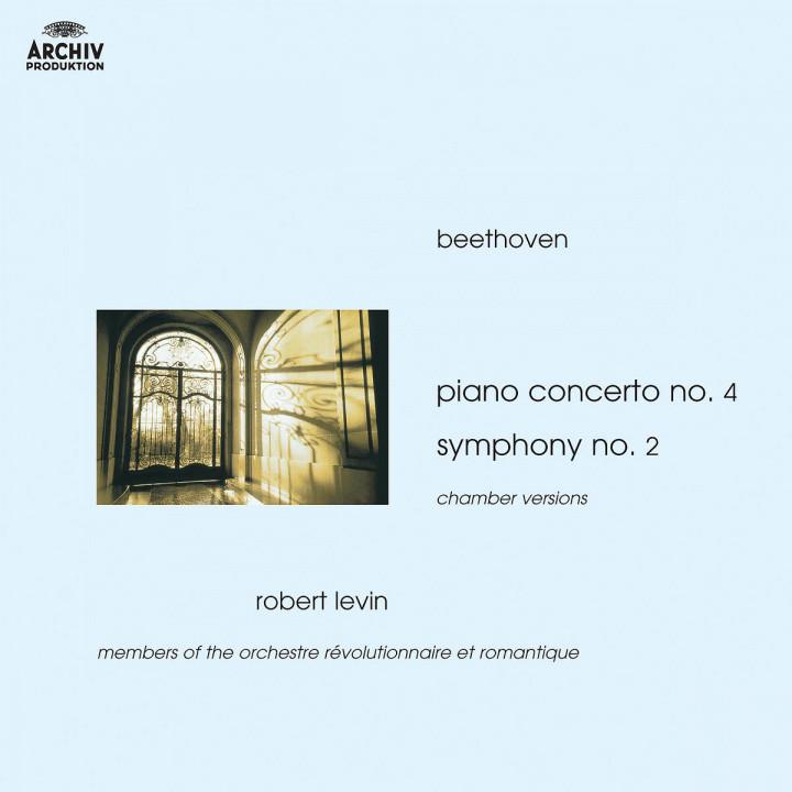Beethoven: Piano Concerto No.4; Symphony No.2 (Chamber Versions) 0028947422422