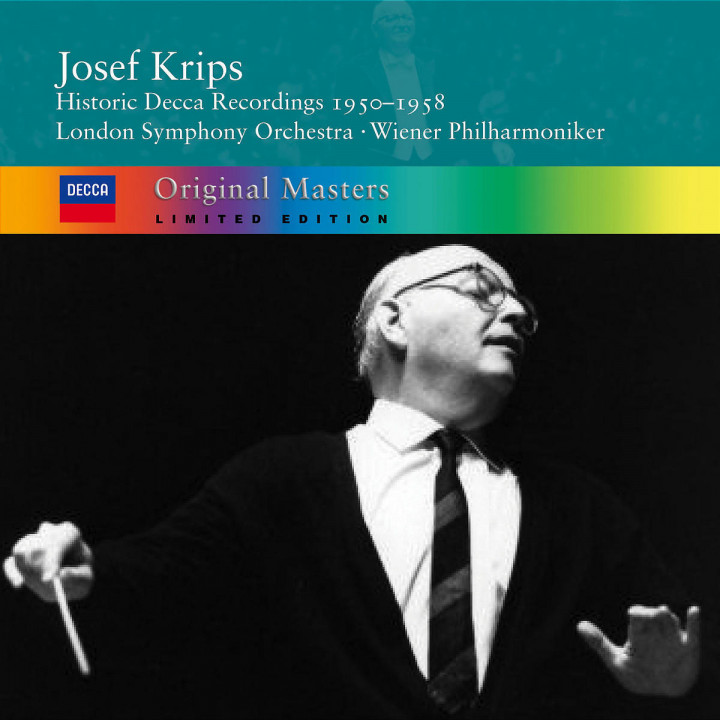 Josef Krips: Historic Decca Recordings 1950-1958 0028947312129