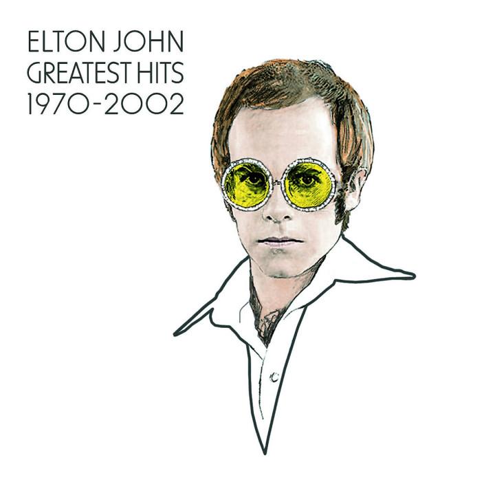 Elton John Greatest Hits 1970-2002 0044007701223