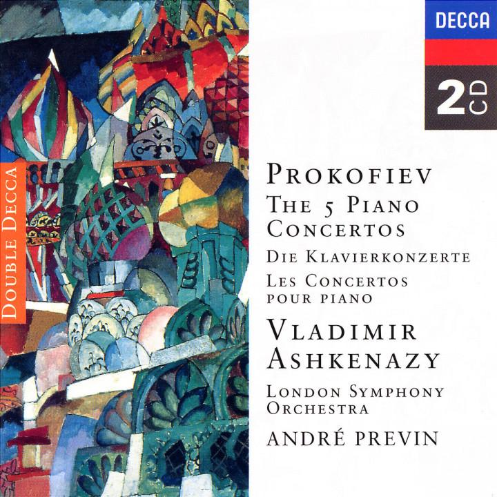 Prokofiev: The Piano Concertos 0028945258821