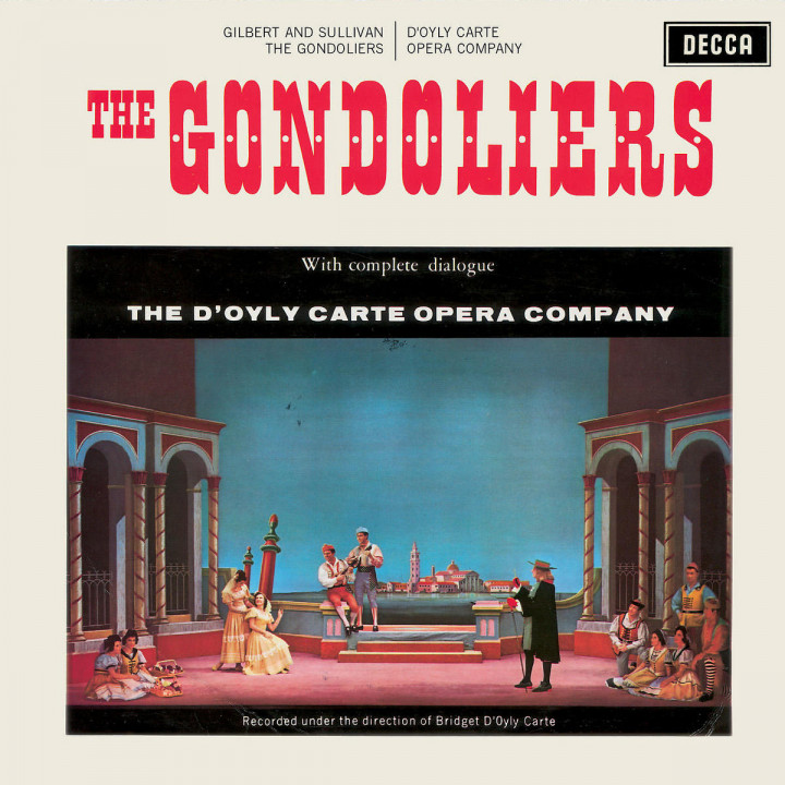 Gilbert & Sullivan: The Gondoliers (with dialogue) 0028947363228