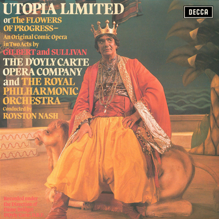 Gilbert & Sullivan: Utopia Ltd. 0028947366221