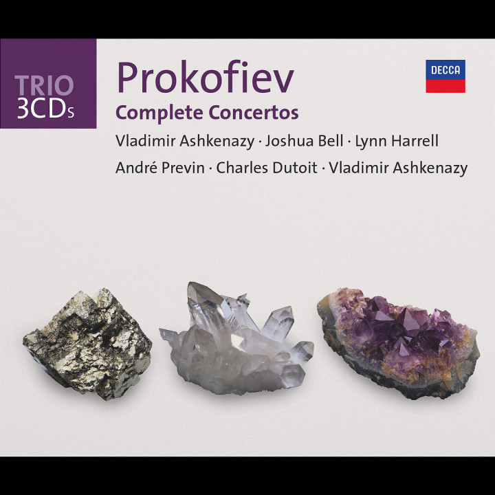 Prokofiev: The Piano Concertos/Violin Concertos etc 0028947325929