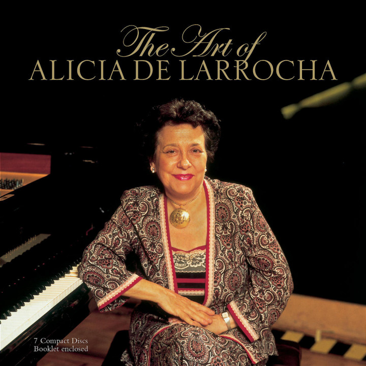 The Art of Alicia de Larrocha 0028947381325