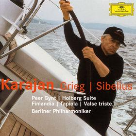 Edvard Grieg, Grieg: Peer Gynt Suites, Holbert Suite / Sibelius: Finlandia, Tapiola, Valse Triste, 00028947426929
