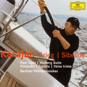 Jean Sibelius, Grieg: Peer Gynt Suites, Holbert Suite / Sibelius: Finlandia, Tapiola, Valse Triste, 00028947426929