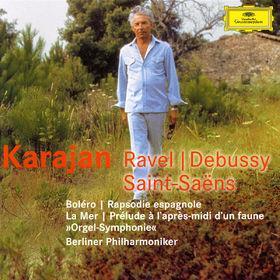 Maurice Ravel, Ravel: Bolero, Rapsodie espagnole / Debussy: La mer, Prélude à l'après-midi d'un faune / Saint-Saen, 00028947427827