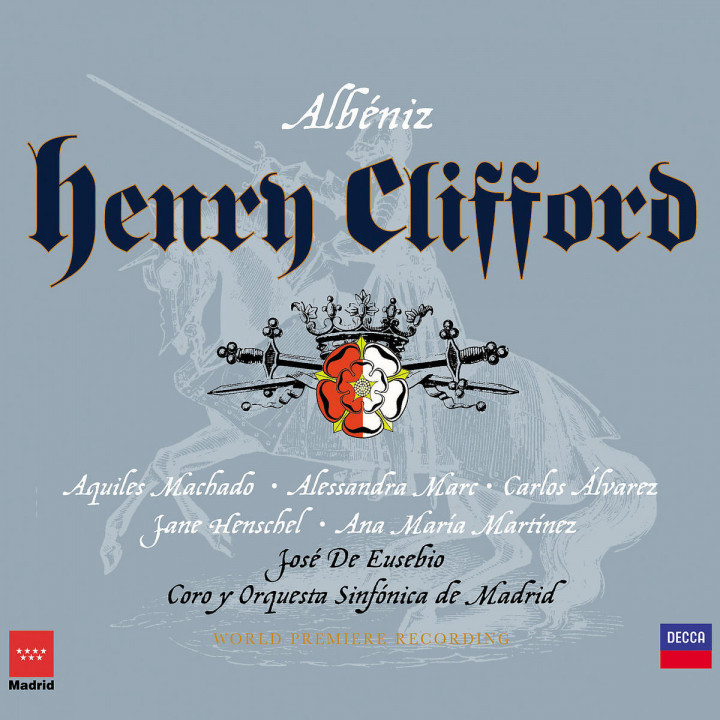 Albéniz: Henry Clifford 0028947393722