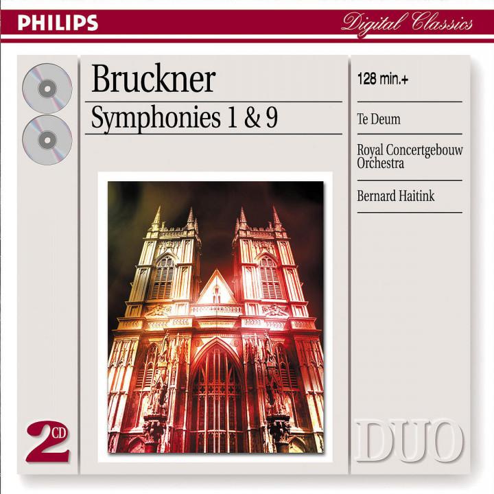 Bruckner: Symphonies Nos.1 & 9/Te Deum 0028947388621