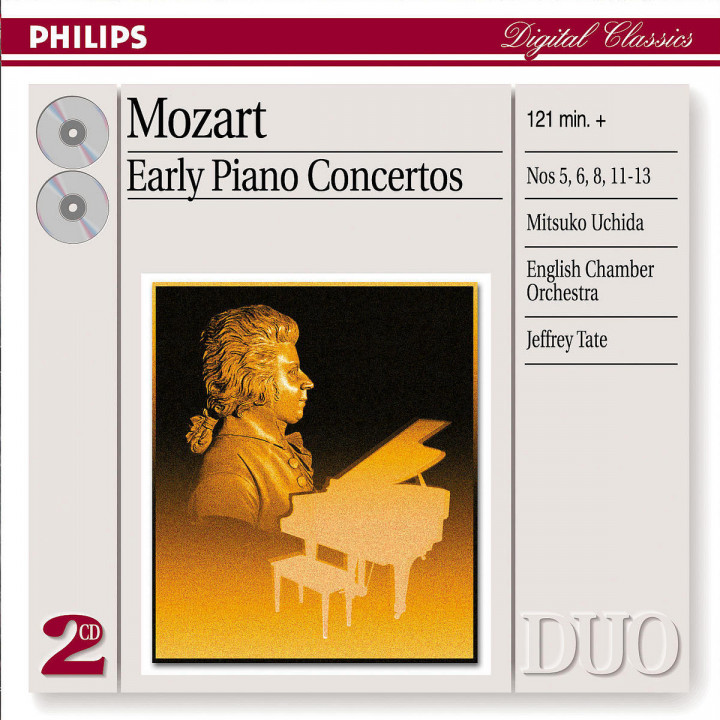 Mozart: Early Piano Concertos 0028947388920