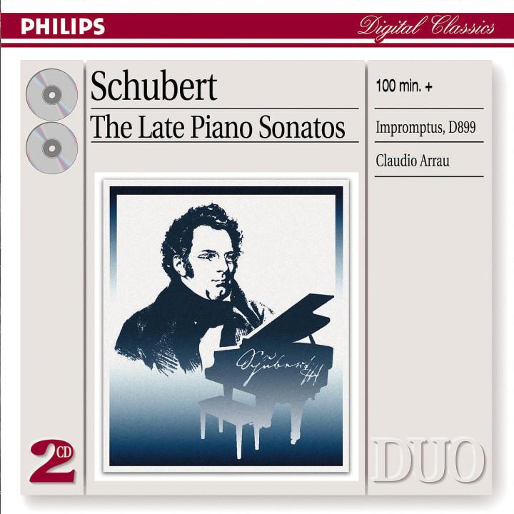 Schubert: Late Piano Sonatas 0028947389529