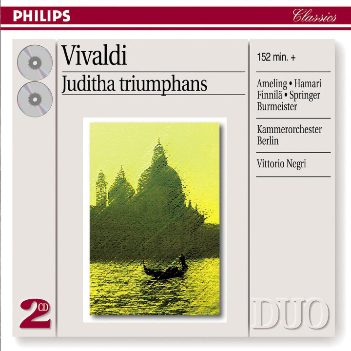 Vivaldi: Juditha Triumphans 0028947389828