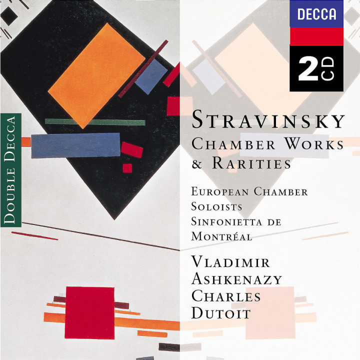 Stravinsky: Chamber Works & Rarities 0028947381026