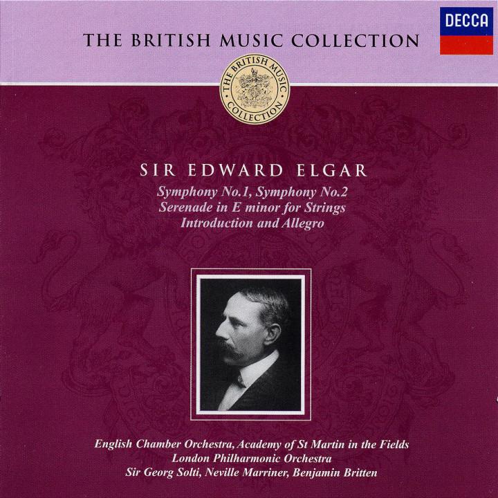 Sinfonien Nr. 1 & 2; Serenade für Streicher in e-moll; Introduction und Allegro 0028947308225