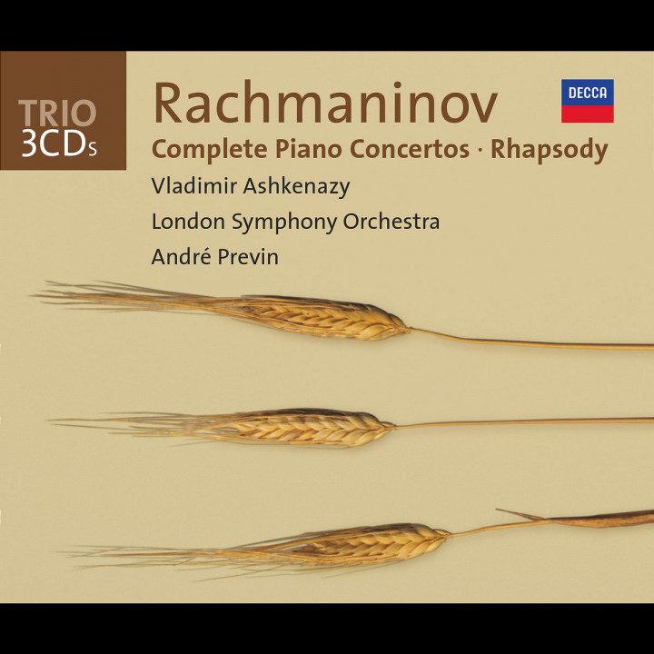 Rachmaninov: Complete Piano Concertos/Rhapsody on a Theme of Paganini 0028947325125