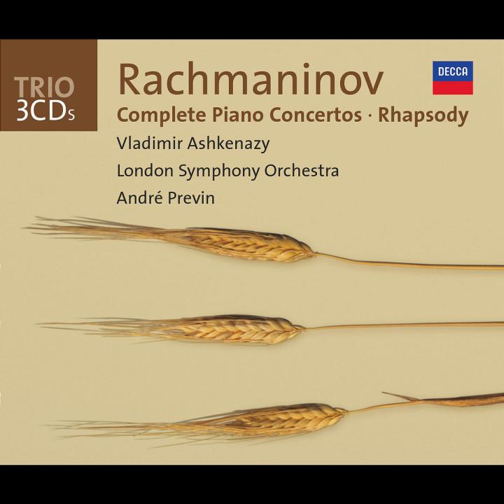 Rachmaninov: Complete Piano Concertos/Rhapsody on a Theme of Paganini 0028947325125