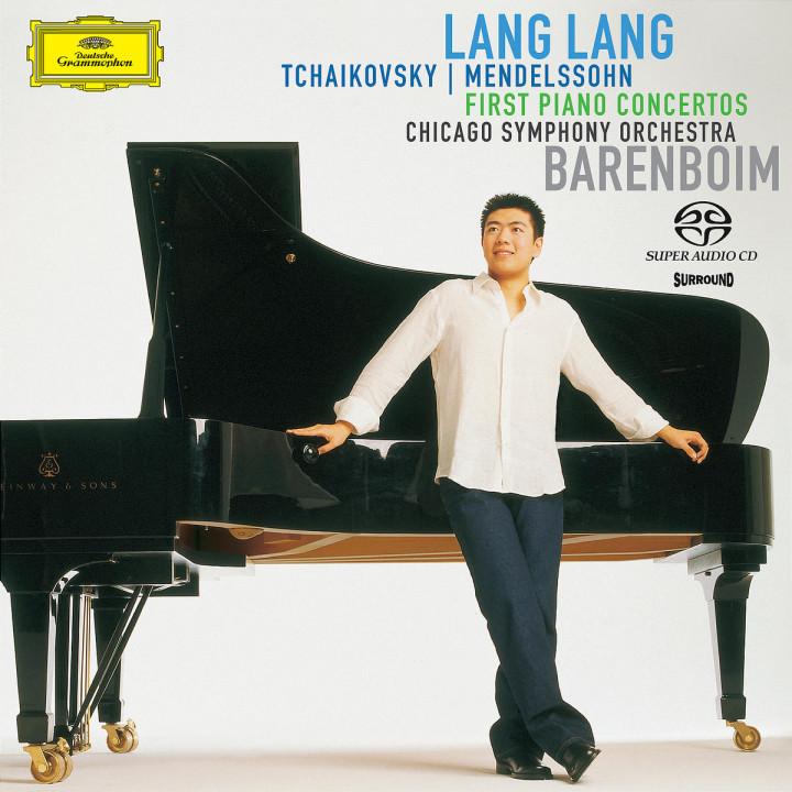 Tchaikovsky / Mendelssohn:  Piano Concertos No. 1 0028947463724