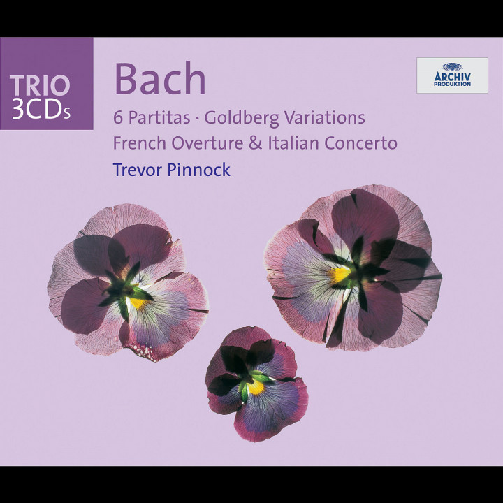 Bach: 6 Partitas; Goldberg Variations; French Overture; Italian Concerto 0028947433725
