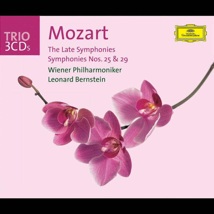 Mozart: The Late Symphonies; Symphonies Nos.25 & 29 0028947434922