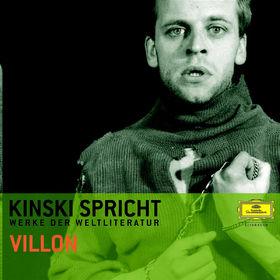 Francois Villon, Kinski spricht Villon, 00602498003855