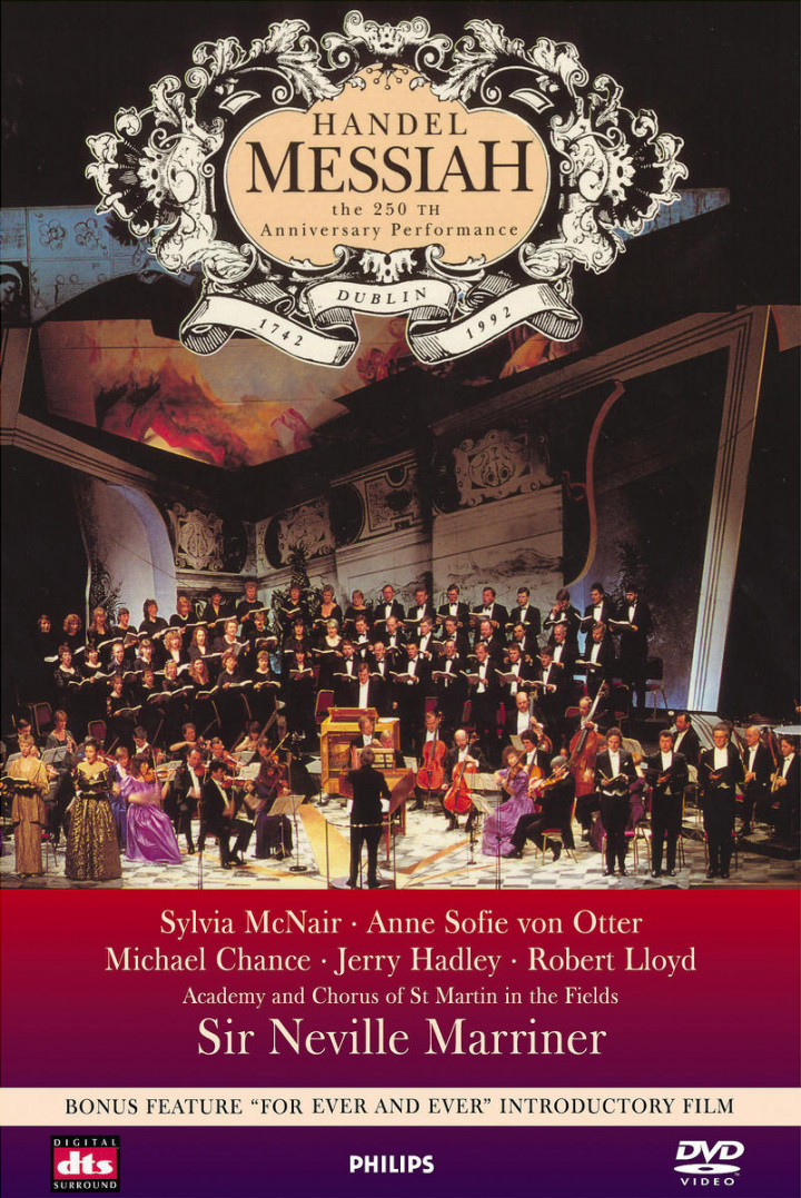 Handel: Messiah - The 250th Anniversary Performance 0044007043297