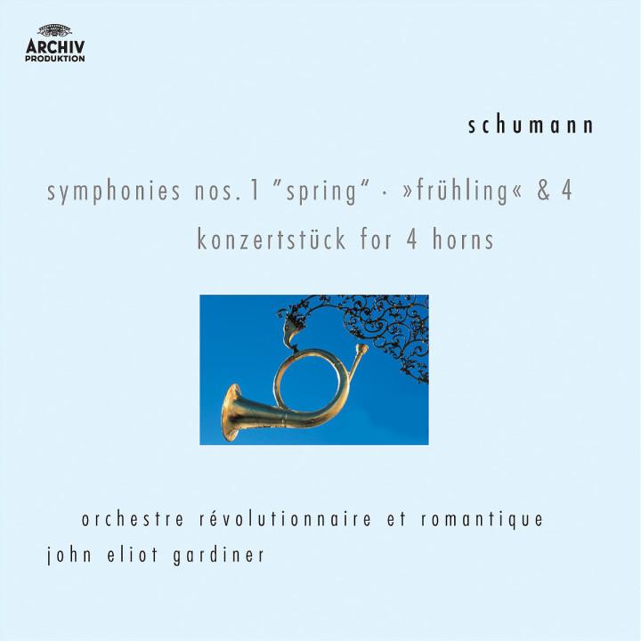 Schumann: Symphonies Nos.1 & 4; Konzertstück for 4 Horns 0028947455125