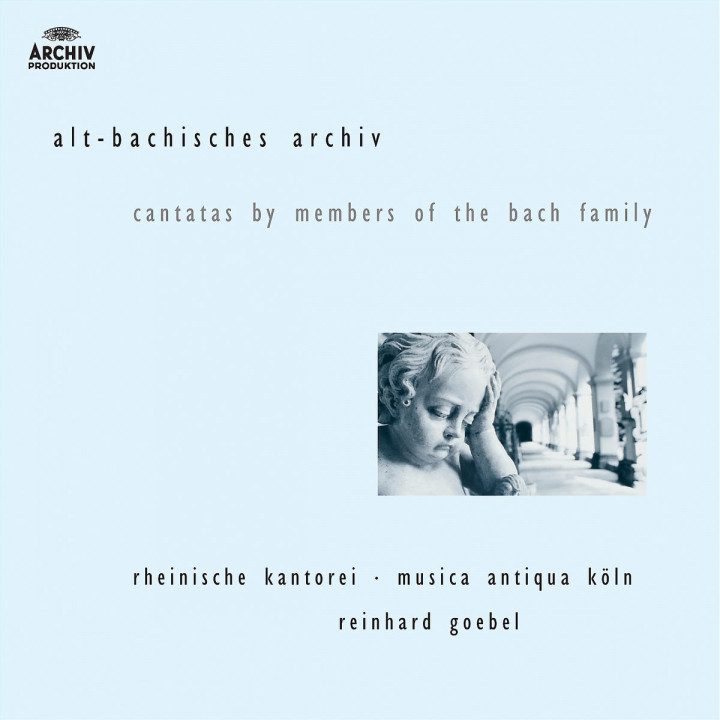 J.M. Bach, G.C. Bach,  J.C. Bach: Cantatas by members of the Bach family 0028947455228