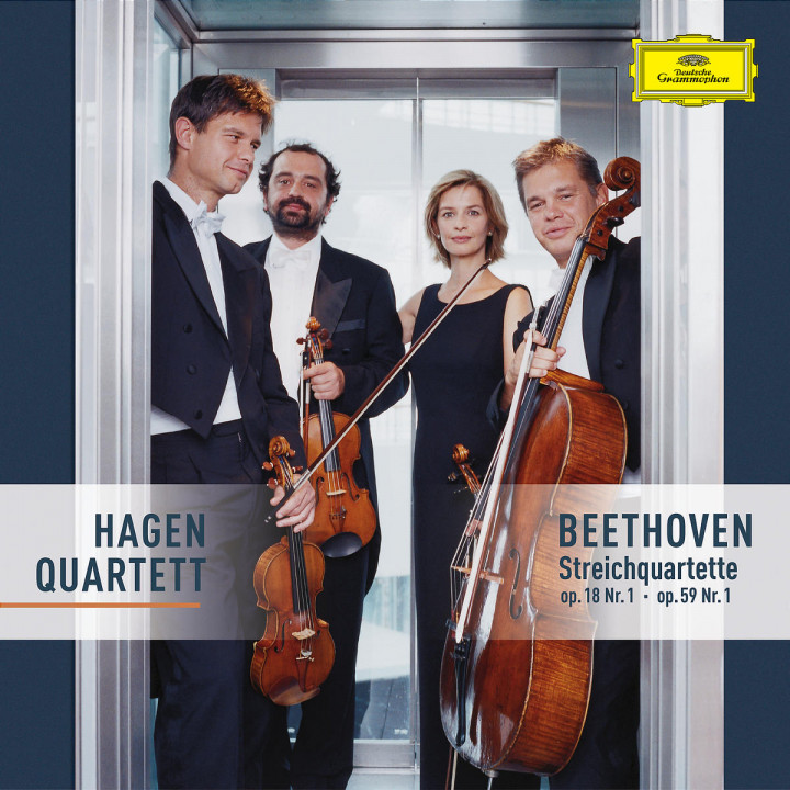 Beethoven: String Quartets Op. 18 No. 1 & Op. 59 No.1 0028947423423