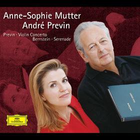 Anne-Sophie Mutter, Previn: Violin Concerto / Bernstein: Serenade, 00028947450023