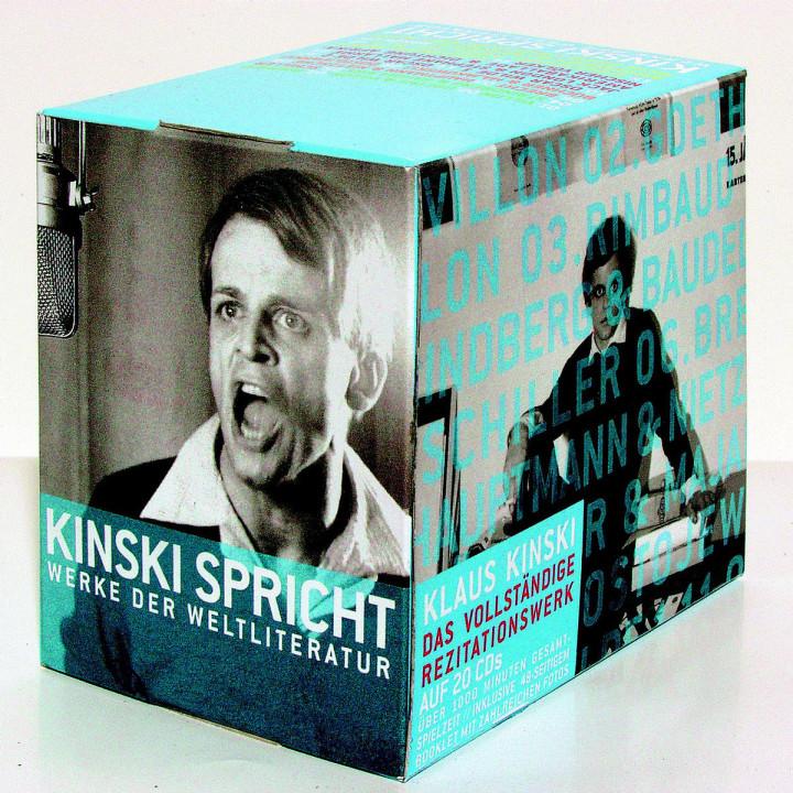 Kinski spricht Werke der Weltliteratur 0602498003833