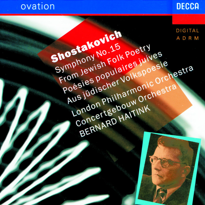 "Shostakovich: Symphony No.15 ""From Jewish Folk Poetry"" 0028942506921"