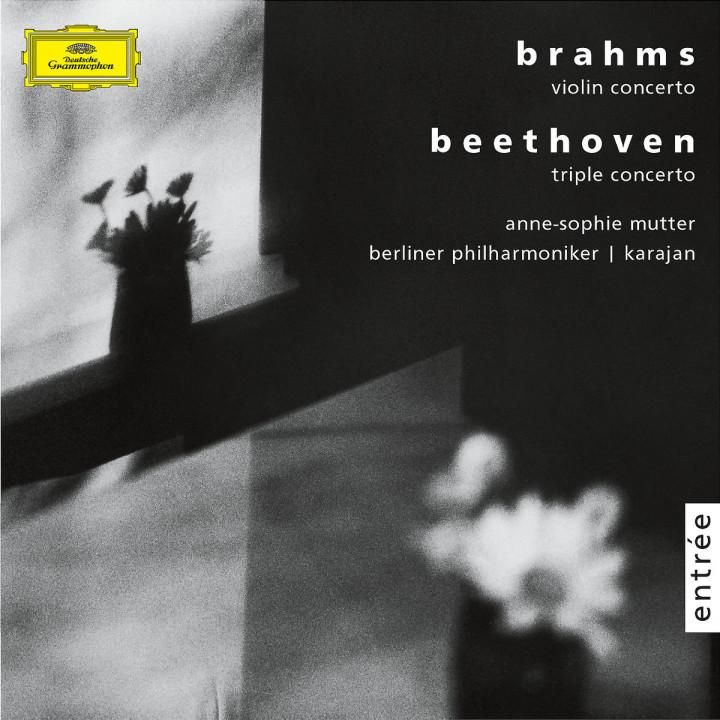 Brahms: Violin concerto, op. 77 / Beethoven: Triple concerto, op.56 0028947456920