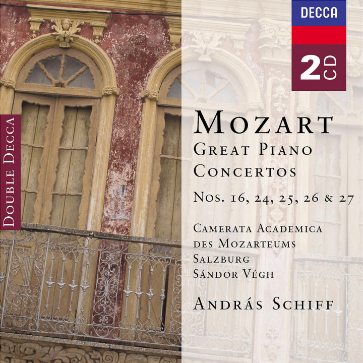 Mozart: Great Piano Concertos 0028947518127