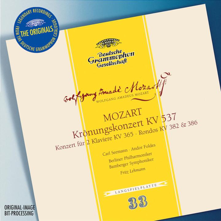 Mozart: Coronation concerto K537, Concerto for 2 Pianos K365, Rondos K382 & 386 0028947461124