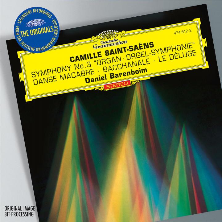 """Saint-Saens: Symphony No.3 """"Organ""""; Bacchanale from """"Samson et Dalila""""; Prélude from """"Le Déluge""""; D 0028947461227"""
