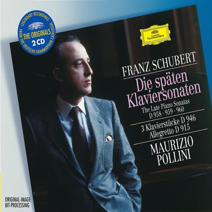 Schubert: The Late Piano Sonatas D 958, 959 & 960; 3 Piano Pieces D 946; Allegretto D 915 0028947461320