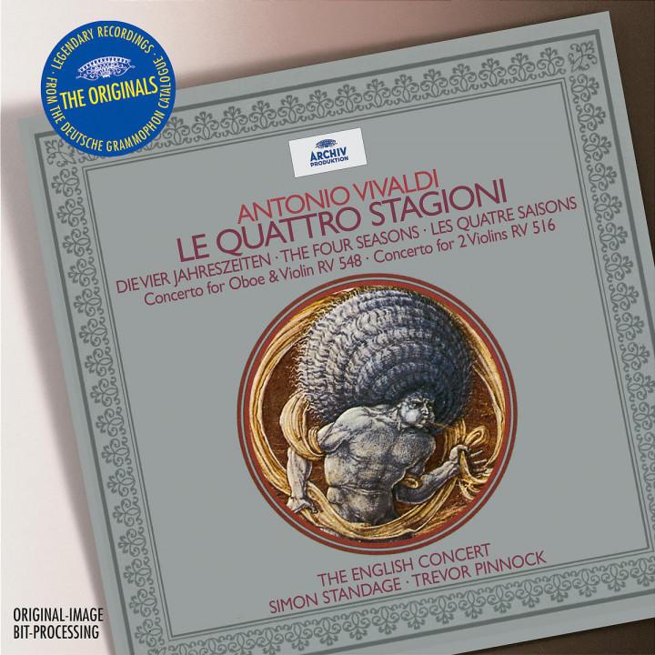 Vivaldi: The Four Seasons; Concerto for Oboe & Violin RV 548; Concerto for 2 Violins RV 516 0028947461629